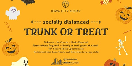 Socially Distanced Trunk or Treat tickets