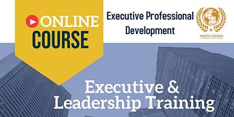 Executive &  Leadership Training tickets