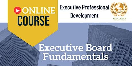 Executive Board Fundamentals tickets