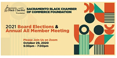 2021 Board Elections and Annual All Member Meeting tickets