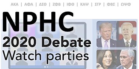 2020 Final Presidential Debate Watch Party