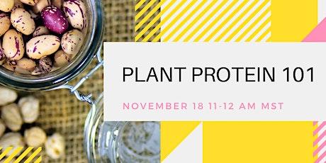 PPAA Webinar: Plant Protein 101 bilhetes