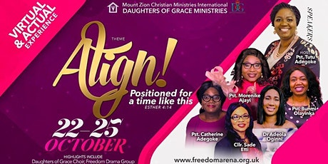 D.O.G Align Conference Finale Sunday, Anointing & Thanksgiving tickets