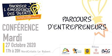 PARCOURS D'ENTREPRENEURS billets