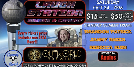 LAUGH STATION at OUTWORLD BREWING tickets