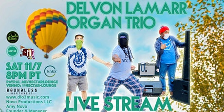 NVCS presents DELVON LAMARR ORGAN TRIO (live stream) tickets