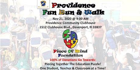 Piece of Mind Foundation - Providence Fun Run & Walk tickets