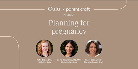 Planning for Pregnancy tickets
