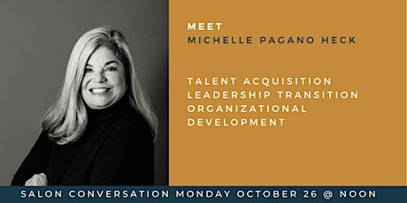 Lunch with Women @ Work featuring Michelle Pagano Heck of Nonprofit Talent tickets