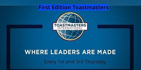 First Edition Toastmasters Club tickets