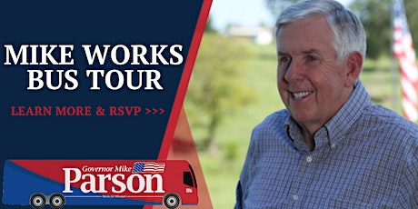 MIKE WORKS TOUR — CAMDEN COUNTY tickets