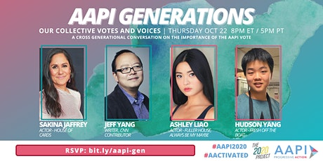 AAPI Generations: Our Collective Votes and Voices tickets