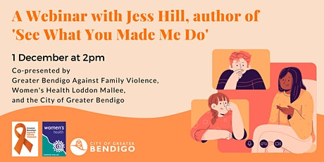 A Webinar with Jess Hill tickets