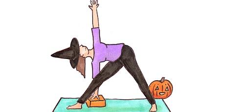 Halloween Yoga tickets
