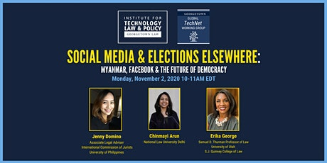 Global TechNet Working Group: Social Media & Elections Elsewhere tickets