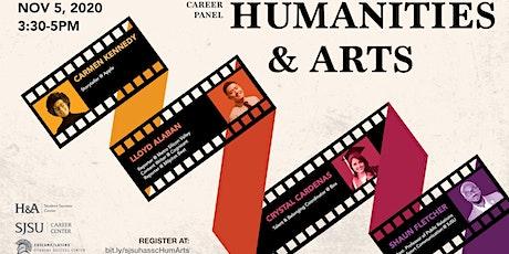 Humanities & Arts - Career Panel tickets