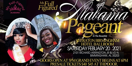 Ms. Full Figured Alabama Pageant tickets