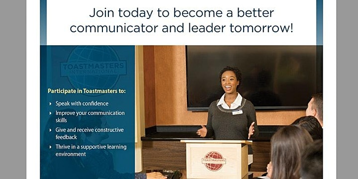 Be a Better Communicator & Leader: Speakers' Corner Toastmasters of Ottawa image