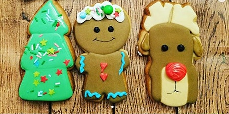 J&D Cellars Gingerbread Sip and Decorate cookie class tickets