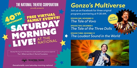 Saturday Morning Live! Presents Gonzo's Multiverse Episode 2 tickets