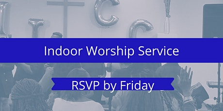Indoor  Sunday Morning Worship Service tickets