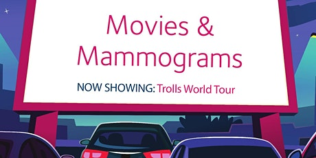 Movies and  Mammograms:  Trolls World Tour tickets