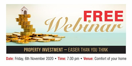 Property Investment - Easier than you Think tickets