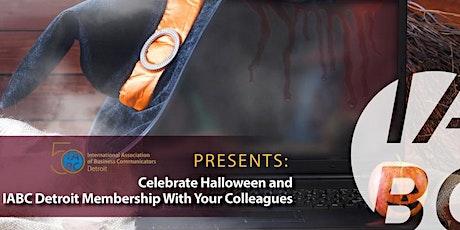 Virtual Halloween IABC Member Meet-Up tickets