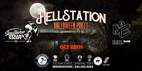 """Simply Southern Steak Night: """"'Hell Station"""" Industry Halloween Party tickets"""