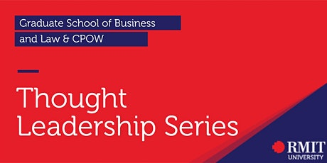 GSBL- CPOW Thought Leadership Series tickets