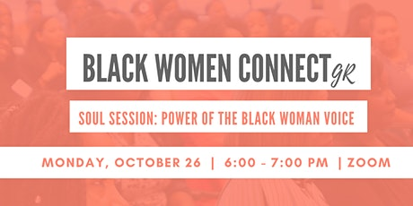 BWC Soul Session: Power of The Black Woman Voice tickets