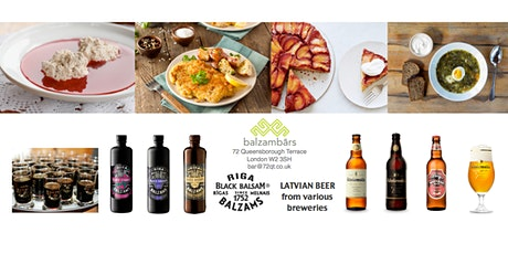 Latvian Style Dinner at Balzambars London (London Latvian House)  tickets