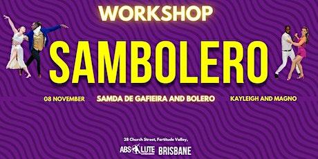 Sambolero Workshop tickets