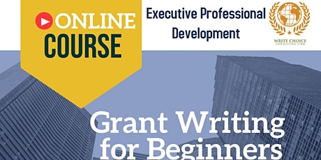 Grant Writing for Beginners tickets