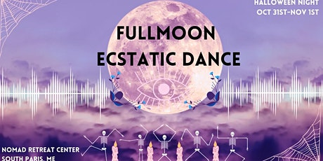 Halloween Full Moon Ecstatic Dance & Bonfire tickets