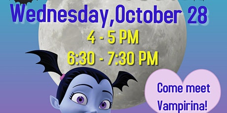 Vampirina Paint Party tickets