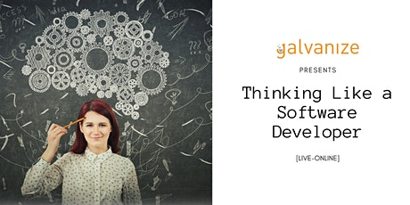 Thinking Like a Software Developer [LIVE ONLINE] tickets