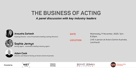 The BUSINESS of Acting tickets