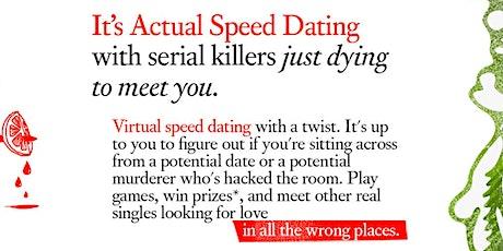LA LGBTQ+: Serial Killer Speed Dating Online M/M Nights tickets