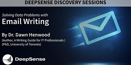 DeepSense Discovery Session - Using Email to Help Solve Data Problems tickets