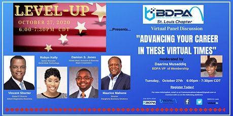 Level Up - Advancing Your Career In These Virtual Times tickets