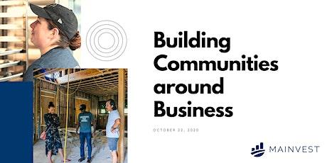 Building Communities around Business tickets