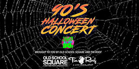 90's Halloween Concert featuring Saved By The 90s tickets
