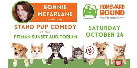 Bonnie McFarlane Headlines Stand Pup Comedy at  Sunset Auditorium tickets