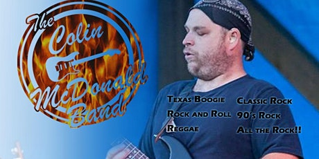 The Colin McDonald Band plays LIVE at Passport Restobar tickets