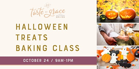 Kids Halloween Treats Baking Class |  ages 8-14 tickets