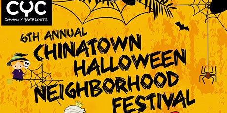 6th Annual Chinatown Halloween Festival tickets