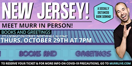 Meet Murr at Books & Greetings in New Jersey tickets