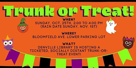 Denville Library Trunk or Treat!  tickets