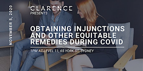 Obtaining Injunctions and other Equitable Remedies During COVID tickets